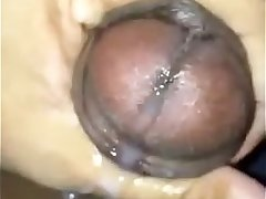 indian guy thick milky cumshot